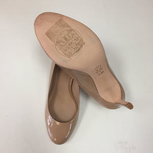 Tory Burch Nude Patent Pumps Women's Size 7.5