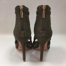 Load image into Gallery viewer, Schutz Moss Green Suede Yoko Pumps Women's Size 7.5