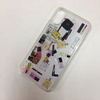 "Authentic Glitter Makeup ""Waterfall"" iPhone Case"