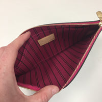 Authentic Louis Vuitton Monogram Pouch Pivoine