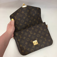 Authentic Louis Vuitton Pochette Metis (Made In France)