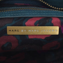 Load image into Gallery viewer, Marc By Marc Jacobs Teal Studded Shoulder Strap