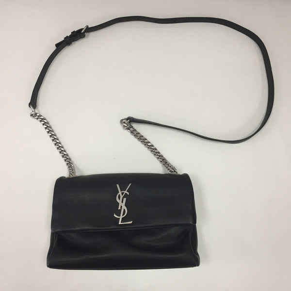 Authentic Saint Laurent Small West Hollywood Nero