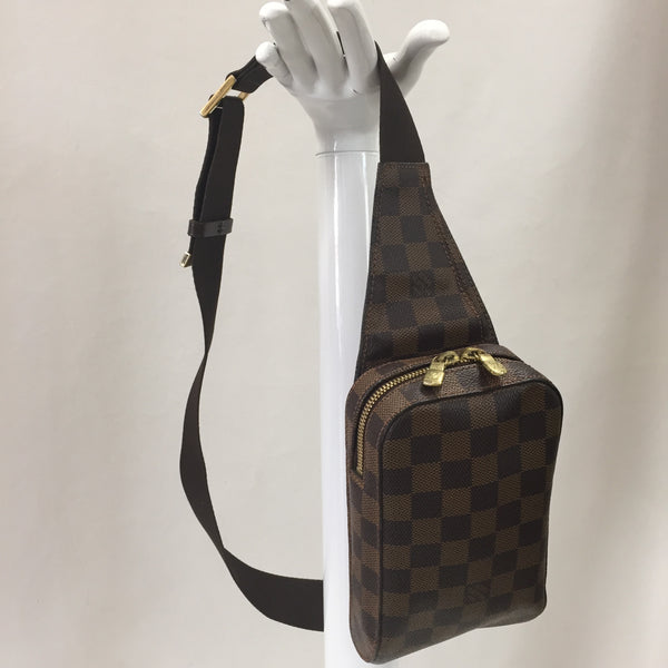 Authentic Louis Vuitton Damier Ebene Geronimos Bum Bag
