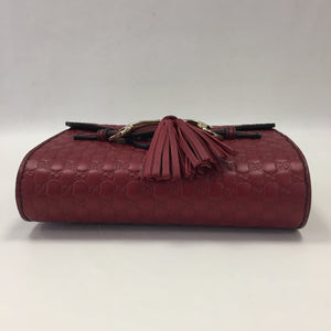 Gucci Red Micro Emily Cross Body Bag