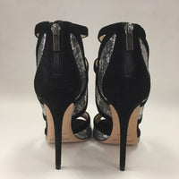 Authentic Jimmy Choo Black/Sequin Pumps Women's Size 39.5