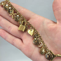 Authentic Louis Vuitton Pastilles Bag Charm/Bracelet