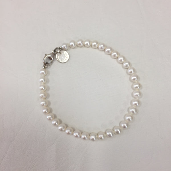 Authentic Tiffany Ziegfeld Pearl Bracelet