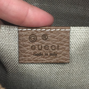 Gucci Brown Supreme Canvas Cross Body Bree