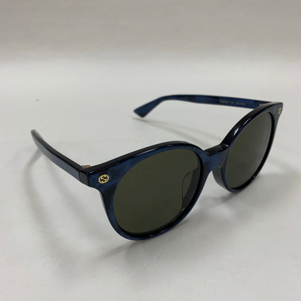 Authentic Gucci Blue Marble Sunglasses