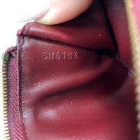 Louis Vuitton Dark Red Vernis Key Cles