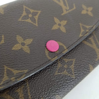 Authentic Louis Vuitton Monogram Emillie Wallet