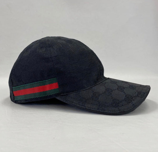 Authentic Gucci Black Ball Cap