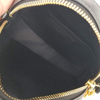 Authentic Saint Laurent Round Leopard Camera Bag