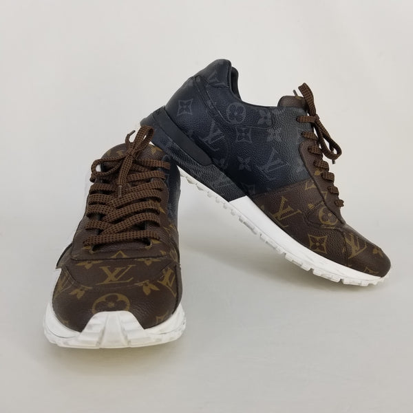 Authentic Louis Vuitton Multi Canvas RunAway Sneakers