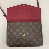 Authentic Louis Vuitton Monogram Aurore Twice Cross Body
