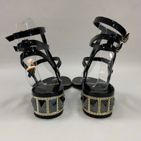 Authentic Valentino Black Jelly Sandals