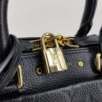 Authentic Louis Vuitton Rare Black Empriente Speedy 25