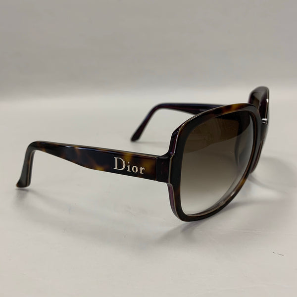 Authentic Dior Brown Tortoise Sunglasses