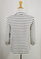 Authentic Smythe White Stripe Jacket