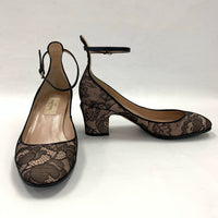 Authentic Valentino Nude with Black Lace