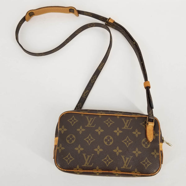 Authentic Louis Vuitton Vintage Monogram Marly Cross Body