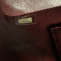 Authentic Chanel Burgundy Medallion Tote
