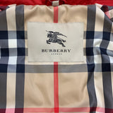 Authentic Burberry Red Down Filled Vest Sz S