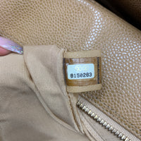 Authentic Chanel Beige Grand Timeless Tote