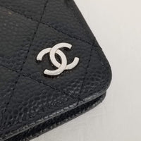 Authentic Chanel Black Caviar Agenda