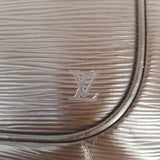 Authentic Louis Vuitton Moka Epi Sarvanga Crossbody Bag