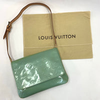 Authentic Louis Vuitton Baby Blue Vernis Thompson Street Bag