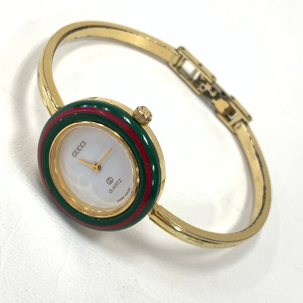Authentic Gucci Vintage Interchangeable Bezel Bangle Watch