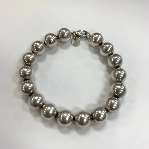 Authentic Tiffany & Co Silver Ball Bracelet