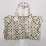 Authentic Louis Vuitton Mini Lin Croisette Speedy 30