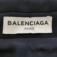 Authentic Balenciaga Black Moto Jacket Sz XS/S