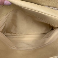 Authentic Chanel Light Beige Grand Timeless Tote