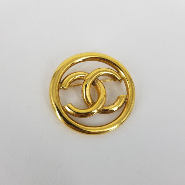 Authentic Chanel Tubular Pin