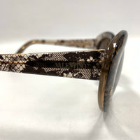 Authentic Valentino Brown Lace Sunglasses