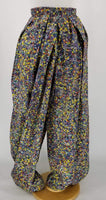 Authentic John Paul Gaultier 'Pin' Print Balloon Pants