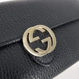 Authentic Gucci Black Soho Leather Continental Wallet