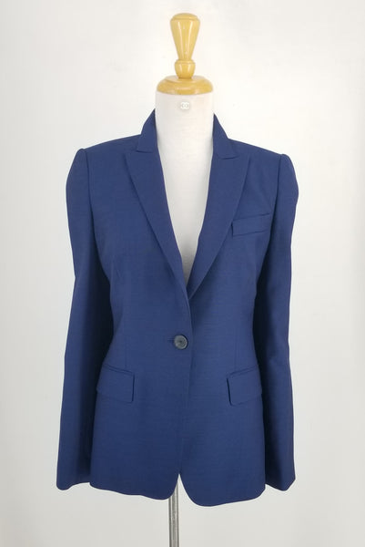 Authentic Judith & Charles Royal Blue One Button Blazer