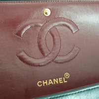 Authentic Chanel Vintage Black Double Flap Bag
