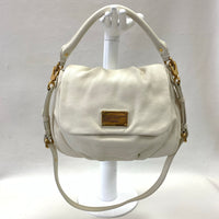 Authentic Marc Jacobs Ivory Classic Q Ukita