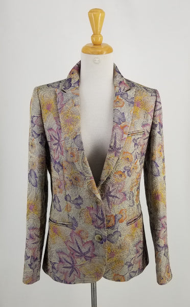 Authentic Zadig & Voltaire Multi Floral Blazer