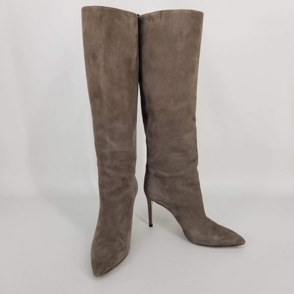 Authentic Gucci Taupe Suede Boots