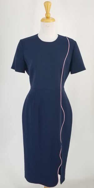Authentic Roksanda Navy Dress Sz S
