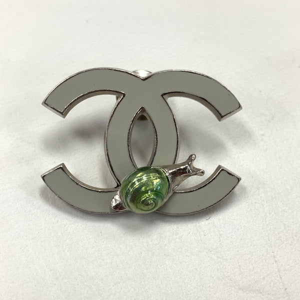 Authentic Vintage Chanel Snail Pin