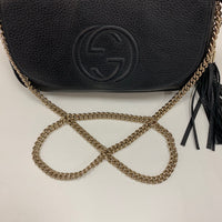 Gucci Black Soho Flap with Tassel