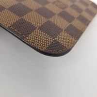 Authentic Louis Vuitton Damier Ebene Rose Ballerine Pochette